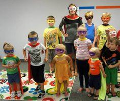 Superhero Family Night