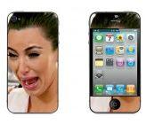iPhone 4/4s Kim Kardashian skin www.mayom.eu Iphone 4, Kim Kardashian, Self