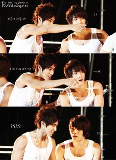 They're so beautiful, fuck.(Credit to the owner.)  Main word is fuck! ~ :)  Yunjae couple [Yunho + Jaejoong]
