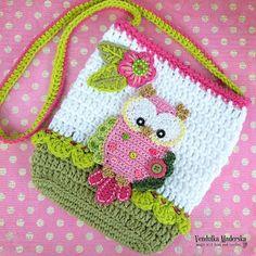 Crochet pattern Owl purse by VendulkaM crochet bag von VendulkaM