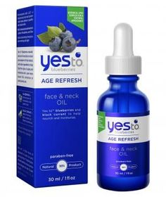 Yes To Blueberries Face & Neck Oil | Soften crow's feet, brighten brown spots, and plump fine lines without breaking the bank. These skincare solutions pack anti-aging power at a drugstore price.