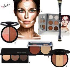 Belleza - Kit de maquillaje para contornos