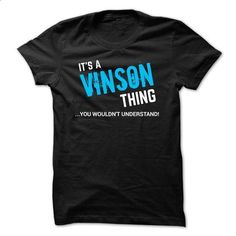SPECIAL - It a VINSON thing    - #sweater for men #wool sweater. ORDER NOW => https://www.sunfrog.com/Funny/SPECIAL--It-a-VINSON-thing--.html?68278