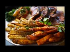Baked French Fries v Saute Diced Potatoes Persillade
