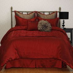 Red Comforter Sets: Free Shipping on orders over $45! Bring the comfort in with…