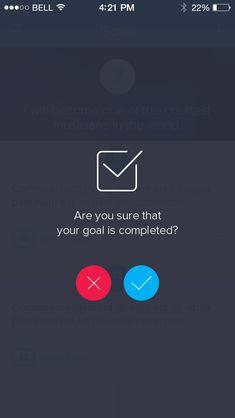 flat responsive design: Question Screen by Ionut Zamfir Web Design, App Ui Design, Interface Design, Flat Design, Iphone App Design, Android Design, Mobile Application Design, Mobile Ui Design, Material Design