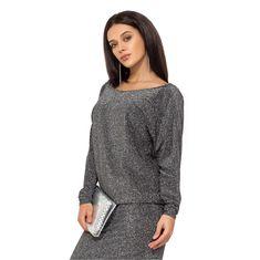 Костюм из трикотажа-люрекс, кофта цельнокроенная с глубоким вырезом по спинке, юбка на резинке 11937 Your Style, Sweaters, Dresses, Fashion, Vestidos, Moda, La Mode, Sweater