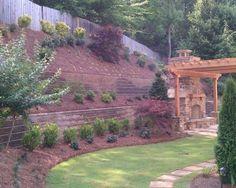 Steep Hillside Landscaping Ideas | Steep like ours....Landscape Hillside Design, Pictures, Remodel, Decor ...