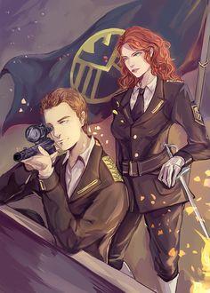 The Avengers (MCU) - Clint Barton x Natasha Romanoff - Clintasha