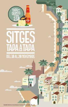 """Tapa a Tapa Sitges 2016 otoño - Este año, del 10 al 20 de noviembre, se celebra en Sitges la octava edición de la ruta """"Sitges Tapa a Tapa"""", una ruta gastronómica en la que los"""