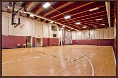 """Can you say """"Your own Basketball Gym""""  Yes for the Low Low Price of..."""