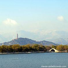 The Jade Peak Pagoda at the Summer Palace Beijing