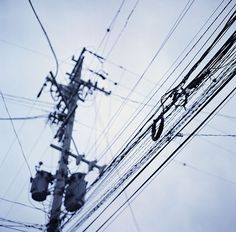 electric wire in Japan