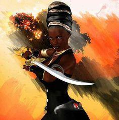 Black Warrior Goddess