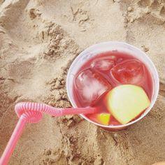Sangria + strand= een perfecte combinatie!