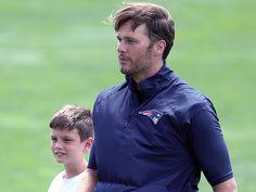 Watch Tom Brady Play Catch with Son Jack During DeflateGateSuspension…