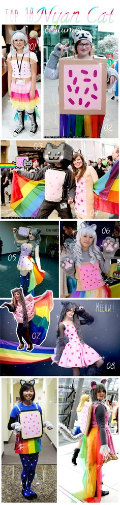 Want some Nyan Cat costume inspiration?  I've compiled my top 10 costume ideas for you guys :)       Is it too early to start thinking about...