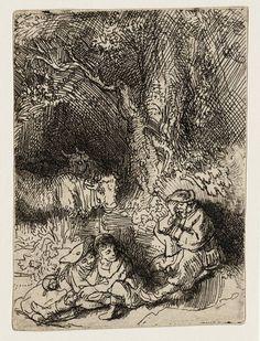 Mijn favoriete Rembrandt in Teylers Museum: Slapende herder (B189)