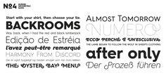 Hurme Geometric Sans No.4 - Webfont & Desktop font « MyFonts