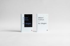 PROJECT DESCRIPTIONI was commissioned by Európa Publishing to design a cover for the new Hungarian translation of Albert Camus' L'Étranger. The publisher eventually withdrew my design and published the book with a photographic dust jacket while keeping m…