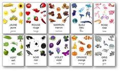 L'imagier des couleurs Color Activities For Toddlers, Educational Activities For Preschoolers, Preschool Colors, Kids Learning, Printable Alphabet Worksheets, Preschool Printables, Alphabet Activities, Infant Activities, French Alphabet
