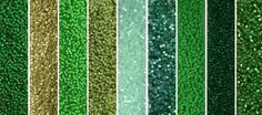 Irish Monday - Exclusive Mix of Miyuki Delica Seed Beads Seed Bead Art, Seed Beads, Jewelry Making Supplies, Craft Supplies, Beading Projects, Kelly Green, Color Combos, Color Inspiration, Irish