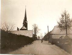 Oude Ommelse kerk gezien uit de Kluisstraat