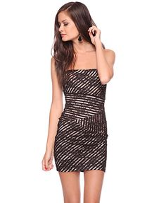 stripes and lace dress. there is something about this dress that i love.