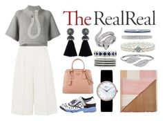 """""""Fall Style With The RealReal: Contest Entry"""" by saracullen ❤ liked on Polyvore featuring CO, Valentino, Christian Dior, Lanvin, Lagos, Prada, Mark Broumand, Gucci, Penny Preville and Effy Jewelry"""