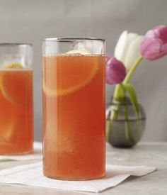 150-calorie cocktails | Blood Orange Shandy