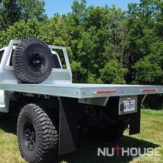 Expedition Flatbed - Nuthouse Industries Custom Flatbed, Custom Truck Beds, Custom Trucks, Flatbed Truck Beds, Body Box, Off Road Camping, I Beam, Perfect Foundation, Tongue And Groove