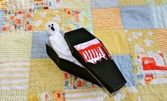 Make a Spooky Coffin | Halloween Craft | Kids Activities And Games