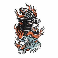 Traditional Tattoo Old School, Traditional Tattoo Design, Tattoo Sketches, Tattoo Drawings, Future Tattoos, Tattoos For Guys, Tatuagem Old Scholl, Tattoos Mandala, Old School Tattoo Designs