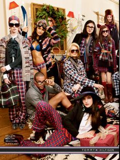 Tommy Hilfiger has had the most amazing ads this year!