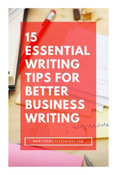 Sometimes you have to take it back to the basics to improve your business writing skills. Business Writing Skills, Writing Tips, Improve Yourself, Blogging, Writing Prompts