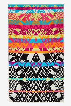Mara Hoffman x Pendleton Horizon Towel