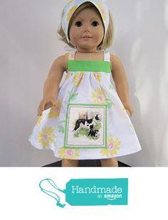4H Farmgirl Mama & Baby Dog Sundress + Reversible Head Scarf fits American Girl from Pawprint Pals https://www.amazon.com/dp/B06W9DHP8Y/ref=hnd_sw_r_pi_dp_yc8Myb7XZ34YK #handmadeatamazon