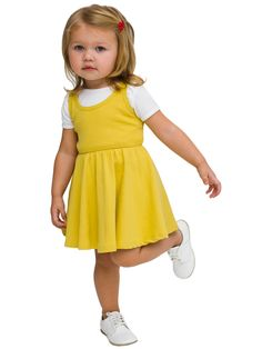 Organic Infant Baby Rib Skater Tank Dress | Babies | Kids & Babies' Dresses & Skirts | American Apparel