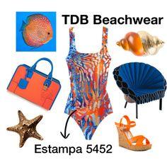 """Estampa Beachwear TDB"" by tdbtecidos on Polyvore"