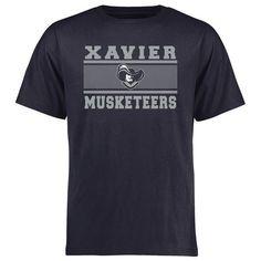 Xavier Musketeers Big & Tall Micro Mesh T-Shirt - Navy - $29.99