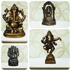 #Ganeshastatue #Bronze statue #LordGanesha #Metalstatue #vintagemetalstatue Find more collection at https://www.indianshelf.com/category/bronze-ganesha/