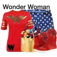 Inspired by Lynda Carter as Wonder Woman in the 1975 TV series.