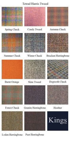 Tetrad Harris Tweed Bowmore