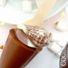 Praline Hot chocolate spoon / hot Chocolate Stirrer