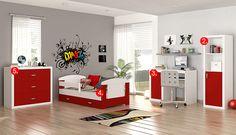 Filip - červená detská izba