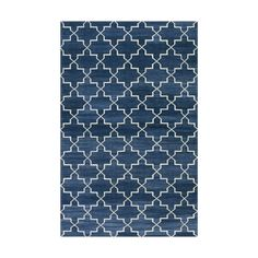 Indigo Brooke Cotton Carpet