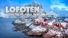 Norway's remote Lofoten Islands provide the perfect setting for incredible photography opportunities, with soft winter light and majestic mountain landscapes rising from the sea.