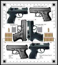 Glock 26 vs. Beretta PX4 Storm Subcompact