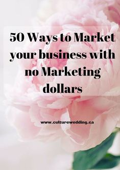 Reasons why you must blog + 50 Free Marketing Tips for your wedding Business! Get it now!   http://www.culturewedding.ca/50-ways-to-market-your-business-with-a-no-marketing-dollars