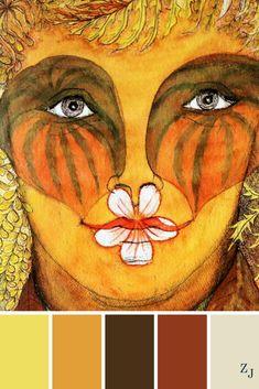 ZJ Colour Palette 487 #colourpalette #colourinspiration